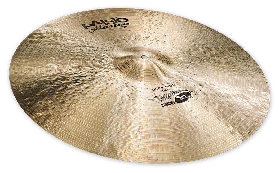 View larger image of Paiste Masters Deep Ride Cymbal - 24