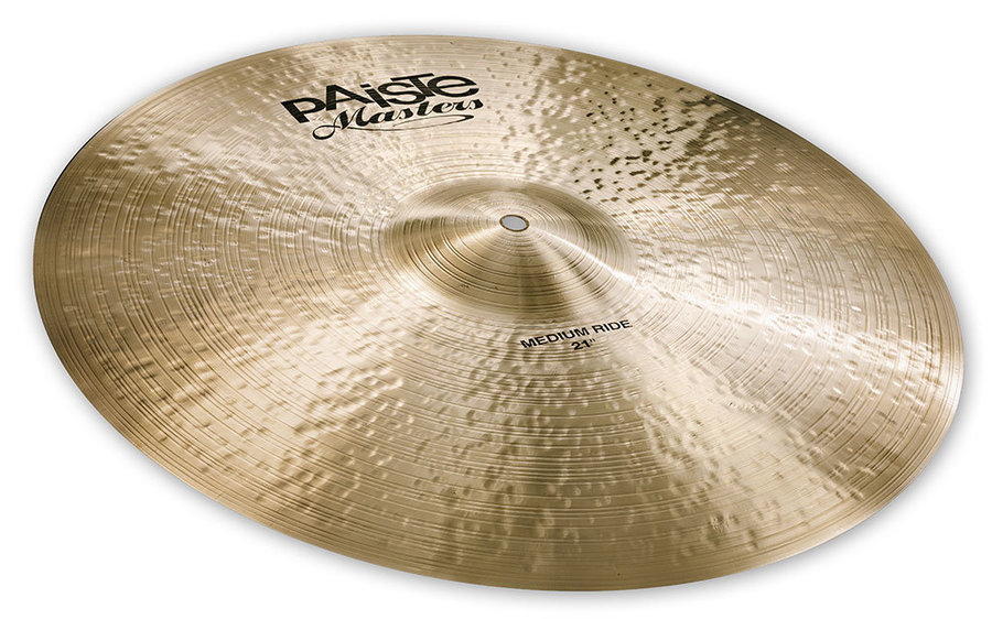 View larger image of Paiste Masters Medium Ride Cymbal - 21