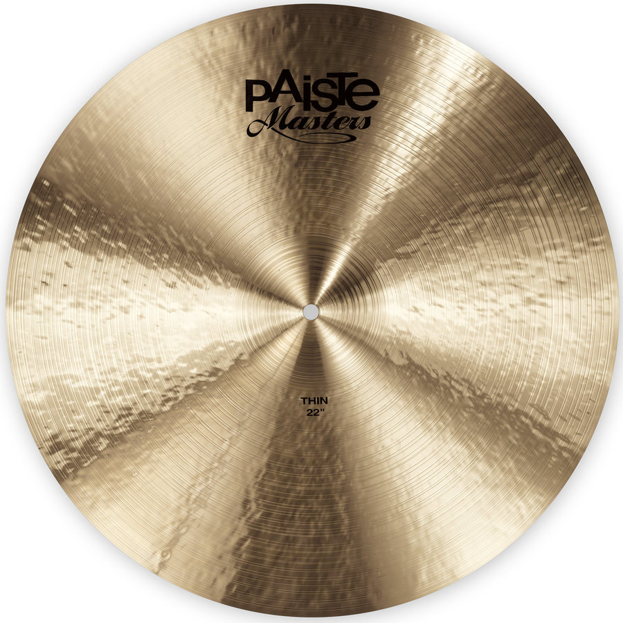 View larger image of Paiste Masters Thin Cymbal - 22