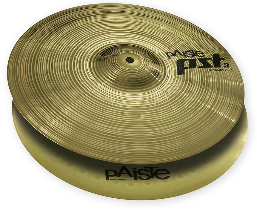 View larger image of Paiste PST 3 Hi-Hat - 14, Top Only