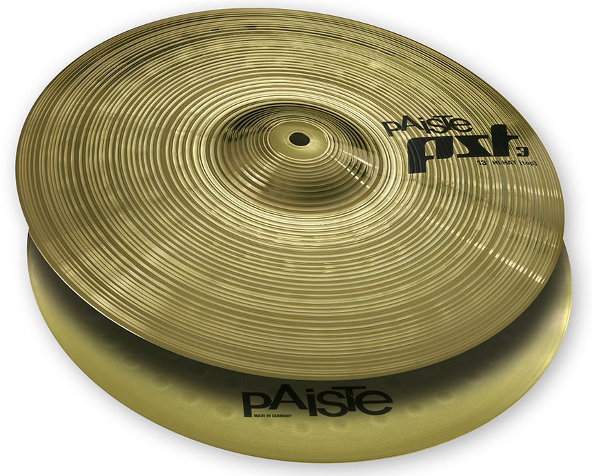 View larger image of Paiste PST 3 Hi-Hat Cymbal - 13, Top Only