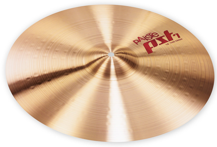 View larger image of Paiste PST 7 Thin Crash Cymbal - 16