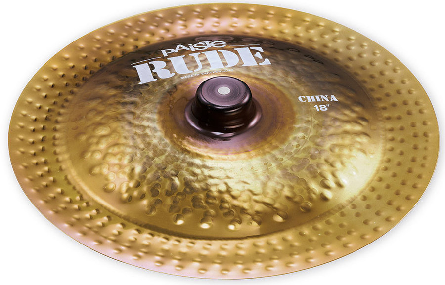 View larger image of Paiste RUDE China Cymbal - 18
