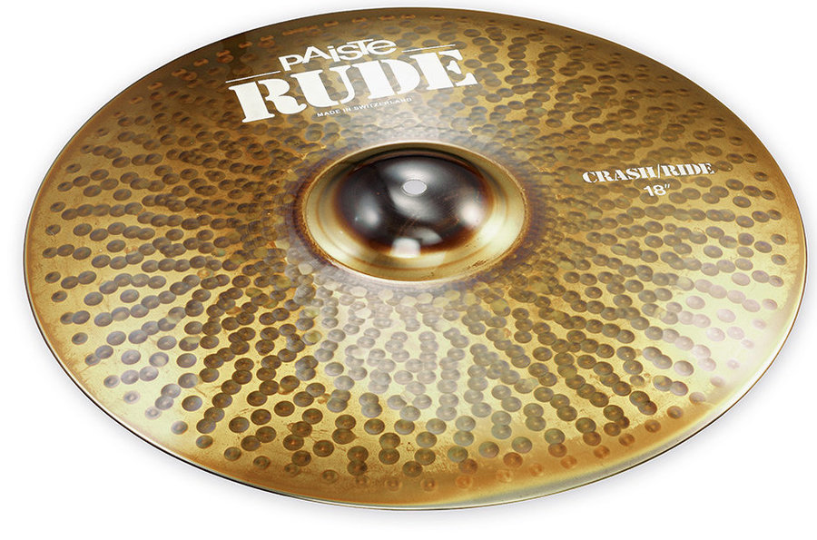 View larger image of Paiste RUDE Crash/Ride Cymbal - 18