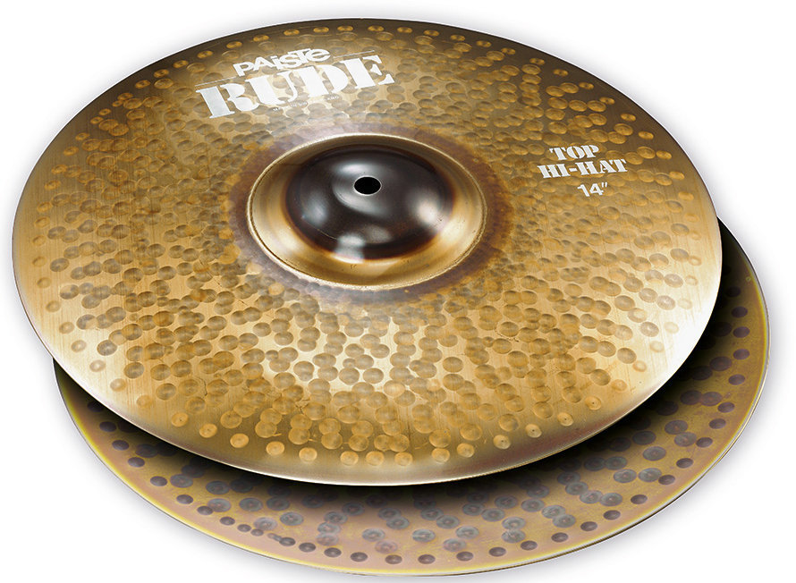 View larger image of Paiste RUDE Hi-Hat - 14, Top Only