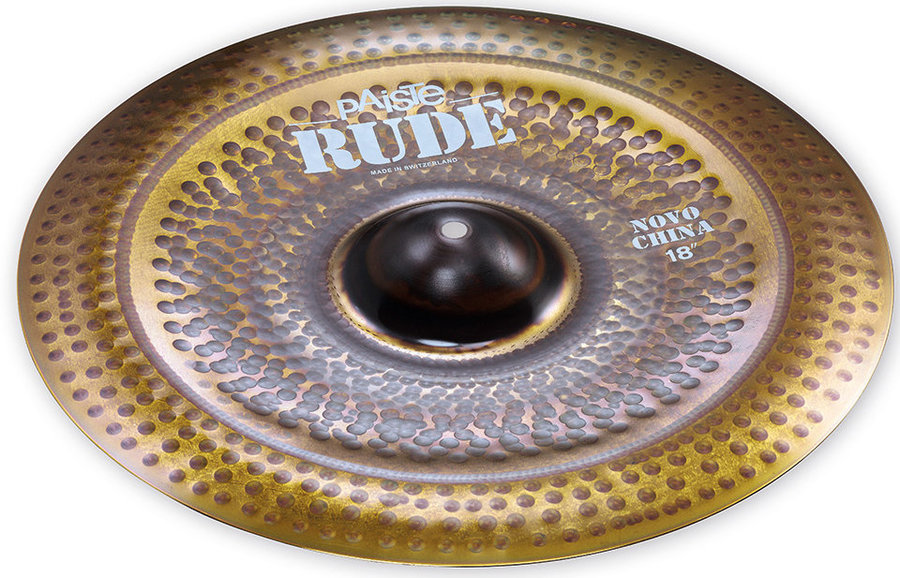 View larger image of Paiste RUDE Novo China Cymbal - 18