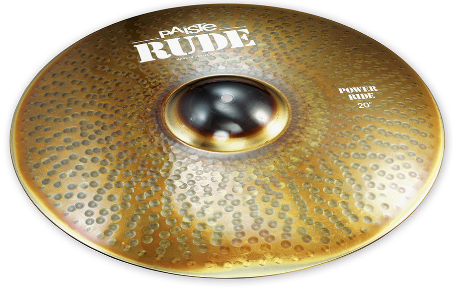 View larger image of Paiste RUDE Power Ride Cymbal - 20