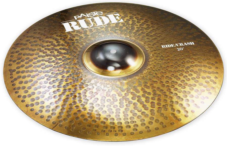 View larger image of Paiste RUDE Ride/Crash Cymbal - 20