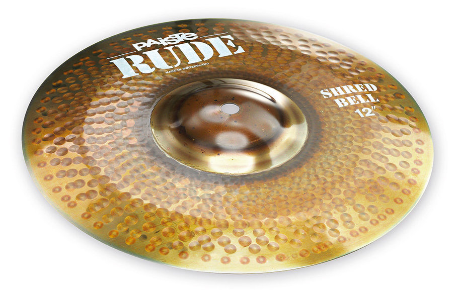 View larger image of Paiste RUDE Shred Bell Cymbal - 12