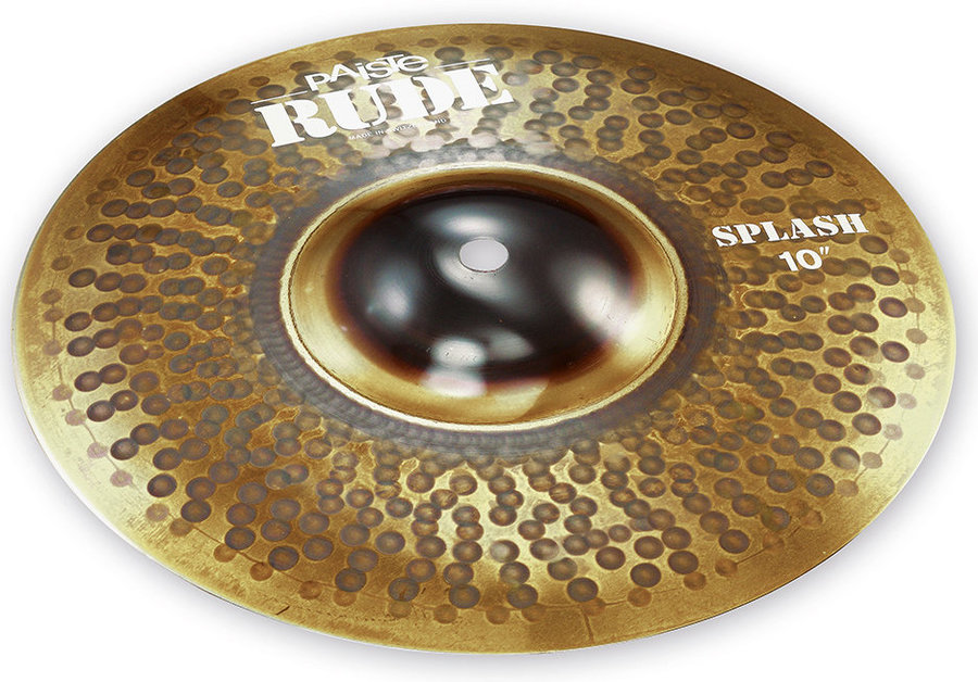 View larger image of Paiste RUDE Splash Cymbal - 10