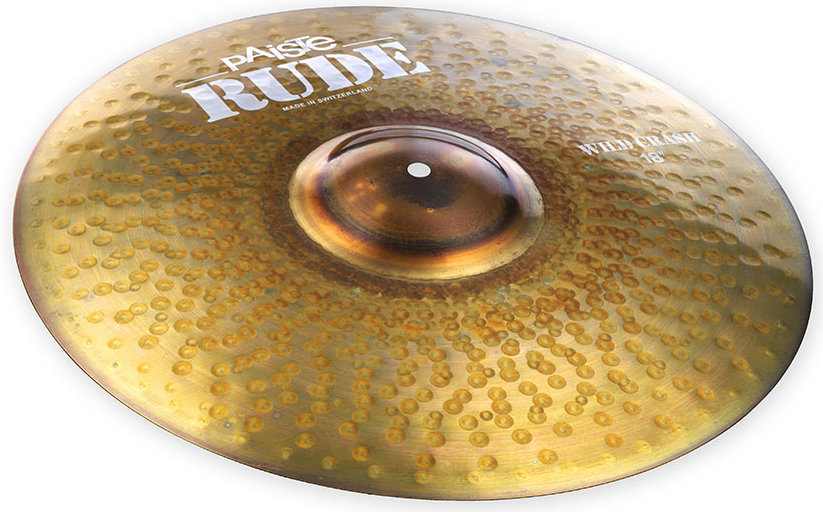 View larger image of Paiste RUDE Wild Crash Cymbal - 18