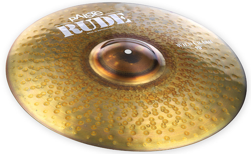 View larger image of Paiste RUDE Wild Crash Cymbal - 19