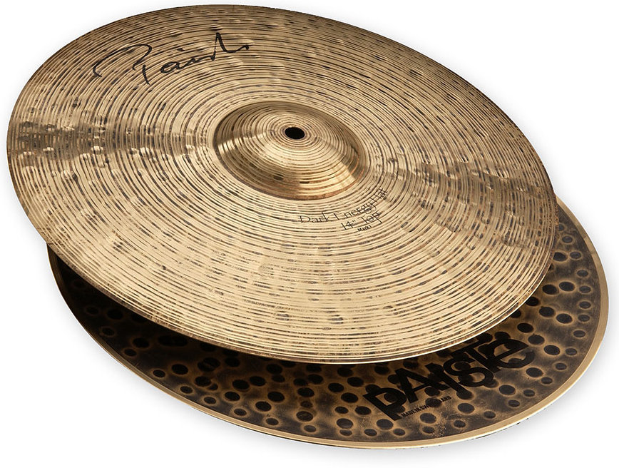View larger image of Paiste Signature Dark Energy Mark Hat - 14, Bottom Only