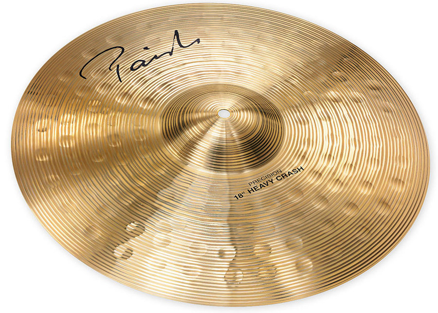 View larger image of Paiste Signature Precision Heavy Crash Cymbal - 18