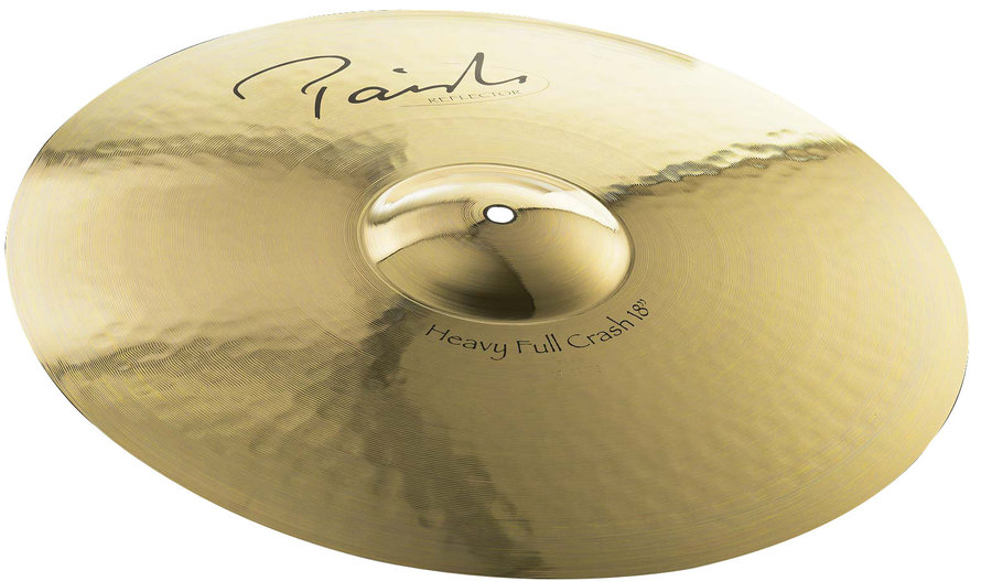 View larger image of Paiste Signature Reflector Heavy Full Crash Cymbal - 18