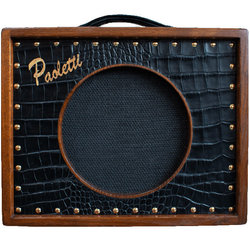 Paoletti Brutale Guitar Combo Amp - Black Leather