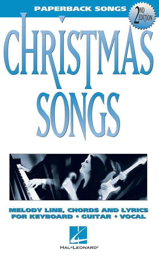 View larger image of Paperback Songs - Christmas Songs