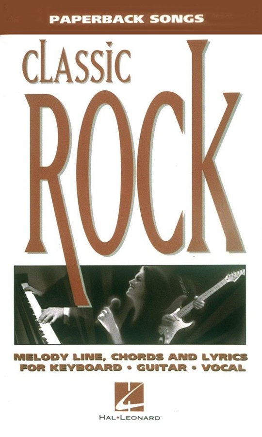 View larger image of Paperback Songs - Classic Rock