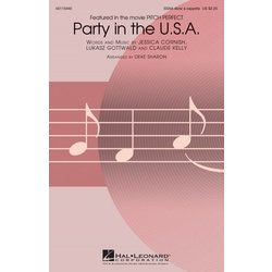 Party in the U.S.A. (Miley Cyrus/Pitch Perfect), SSAA divisi a cappella Parts
