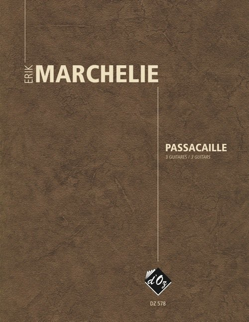 View larger image of Passacaille (Marchelie) - Guitar Trio