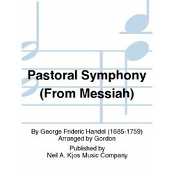 Pastoral Symphony (From The Mesiah) - Clarinet Choir