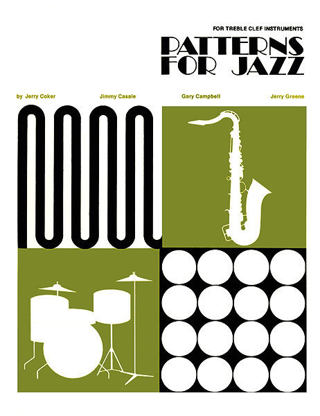 View larger image of Patterns for Jazz: A Theory Text for Jazz Composition and Improvisation - Treble Clef Instruments