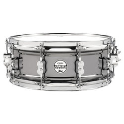 PDP Black Nickel Over Steel Snare Drum - 5.5x14