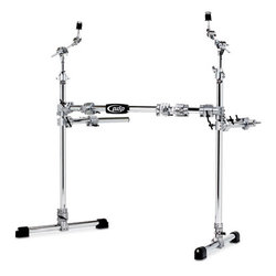PDP Chrome Over Steel Main Rack with 2 Side Wings