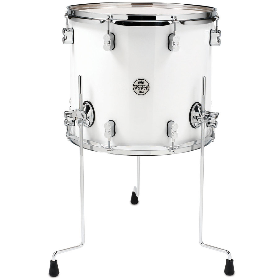 View larger image of PDP Concept Maple 7-Piece Shell Pack - 22/14SD/16FT/14FT/12/10/8, Pearlescent White
