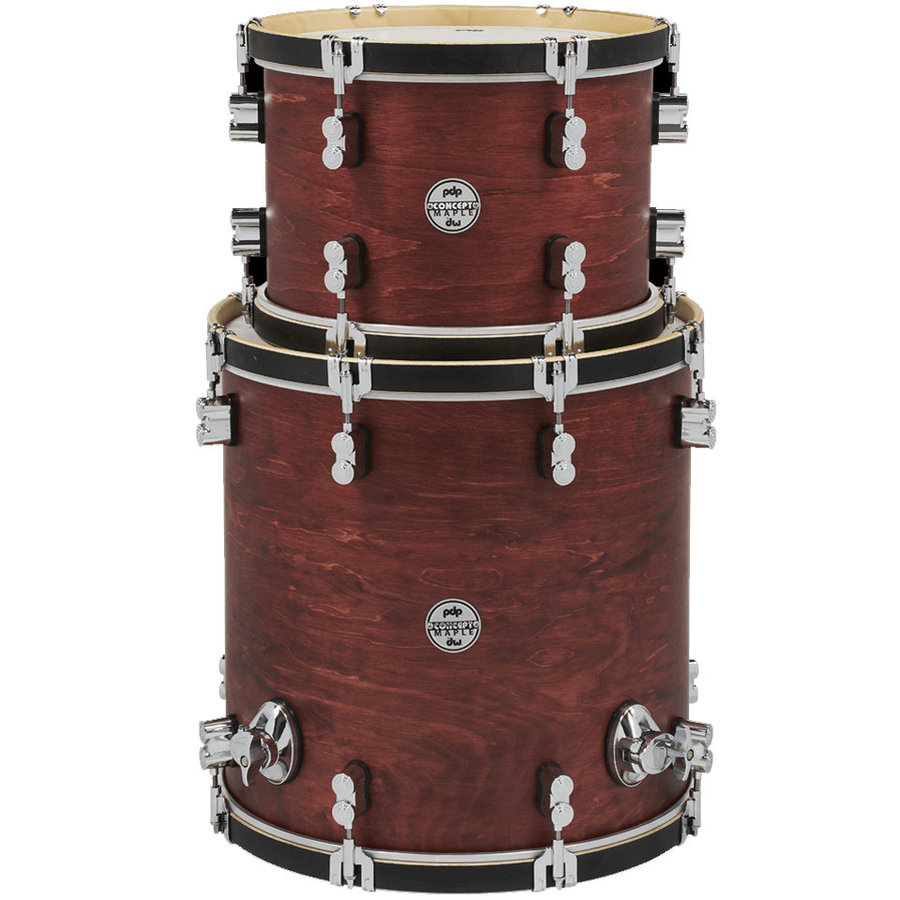 View larger image of PDP Concept Maple Classic 2-Piece Tom Pack - 16FT/13, Ox Blood