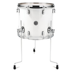 PDP Concept Maple Floor Tom - 14x16, Pearl White