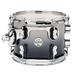 PDP Concept Maple Floor Tom - 16x18, Silver to Black Fade