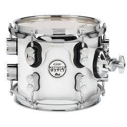 PDP Concept Maple Rack Tom - 7x8, Pearl White