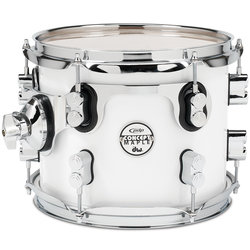 PDP Concept Maple Rack Tom - 8x10, Pearl White