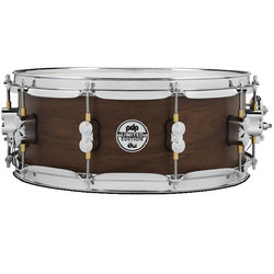 PDP Concept Series Maple Hybrid EXT-PLY Snare Drum - 5-1/2 x 14, Maple Walnut Natural Satin