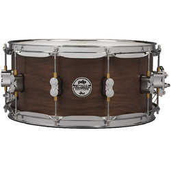 PDP Concept Series Maple Hybrid EXT-PLY Snare Drum - 6-1/2 x 14, Maple Walnut Natural Satin
