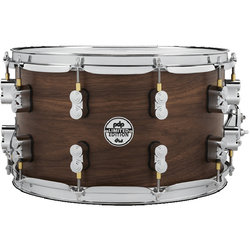 PDP Concept Series Maple Hybrid EXT-PLY Snare Drum - 8 x 14, Maple Walnut Natural Satin