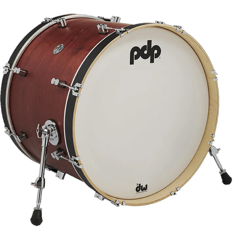View larger image of PDP Concert Maple Classic Bass Drum - 16x22, Ox Blood