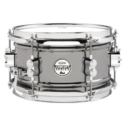 PDP Snare Drum - 6x10 - Black Nickel over Steel
