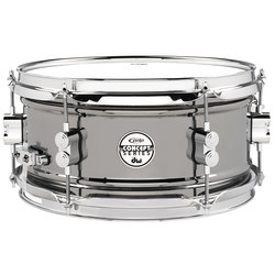 PDP Snare Drum - 6x12 - Black Nickel over Steel