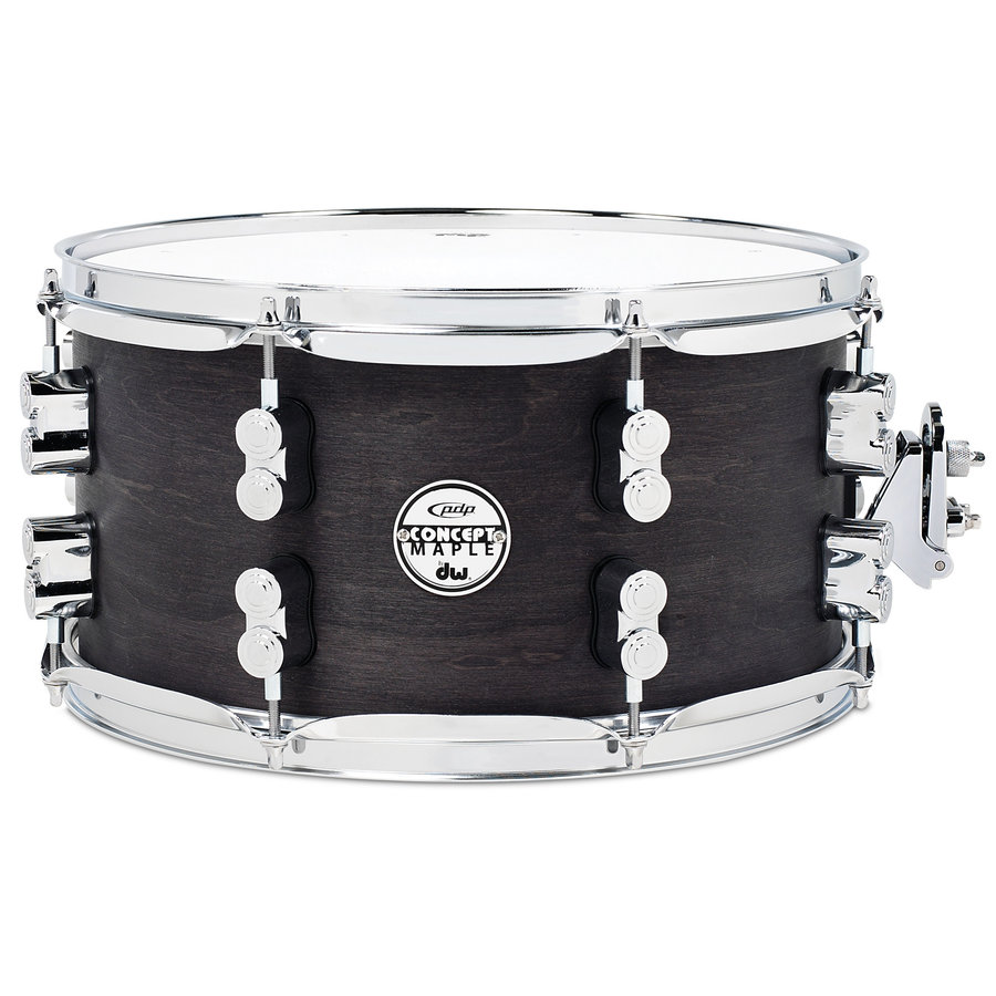 View larger image of PDP Snare Drum - 7x13, Maple Shell with Black Wax Finish