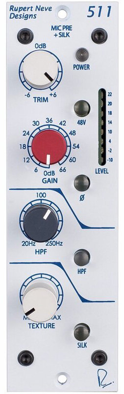 View larger image of Rupert Neve Designs 500 Series 511 Microphone Preamp