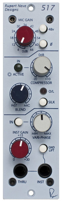View larger image of Rupert Neve Designs 500 Series 517 Microphone Preamp & Compressor