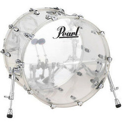 Pearl Crystal Beat Bass Drum - 22x16