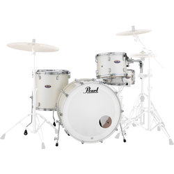Pearl Decade Maple 4-Piece Shell Pack - 24/14SD/16FT/13, White Satin Pearl