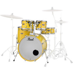 Pearl Decade Maple 5-Piece Shell Pack - 22/14SD/16FT/12/10, Solid Yellow