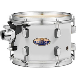 Pearl Decade Maple Rack Tom - 10x7, White Satin Pearl