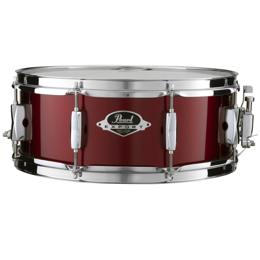 View larger image of Pearl Export 5-Piece Drum Set - 22/14SD/14FT/12/10, Hardware, Cymbals, Throne, Burgundy