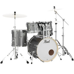 Pearl Export EXX 5-Piece Drum Kit - 20/14SD/14FT/12/10, Hardware, Grindstone Sparkle