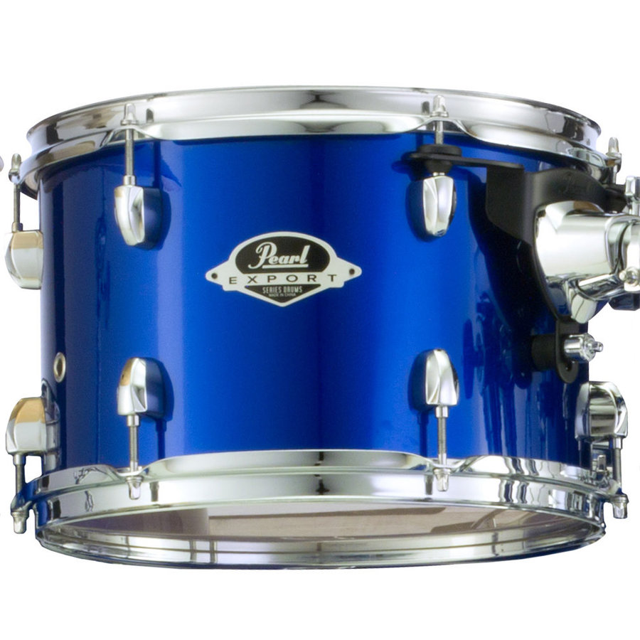 View larger image of Pearl Export EXX 5-Piece Drum Set - 20/14SD/14FT/12/10, Hardware, High Voltage Blue